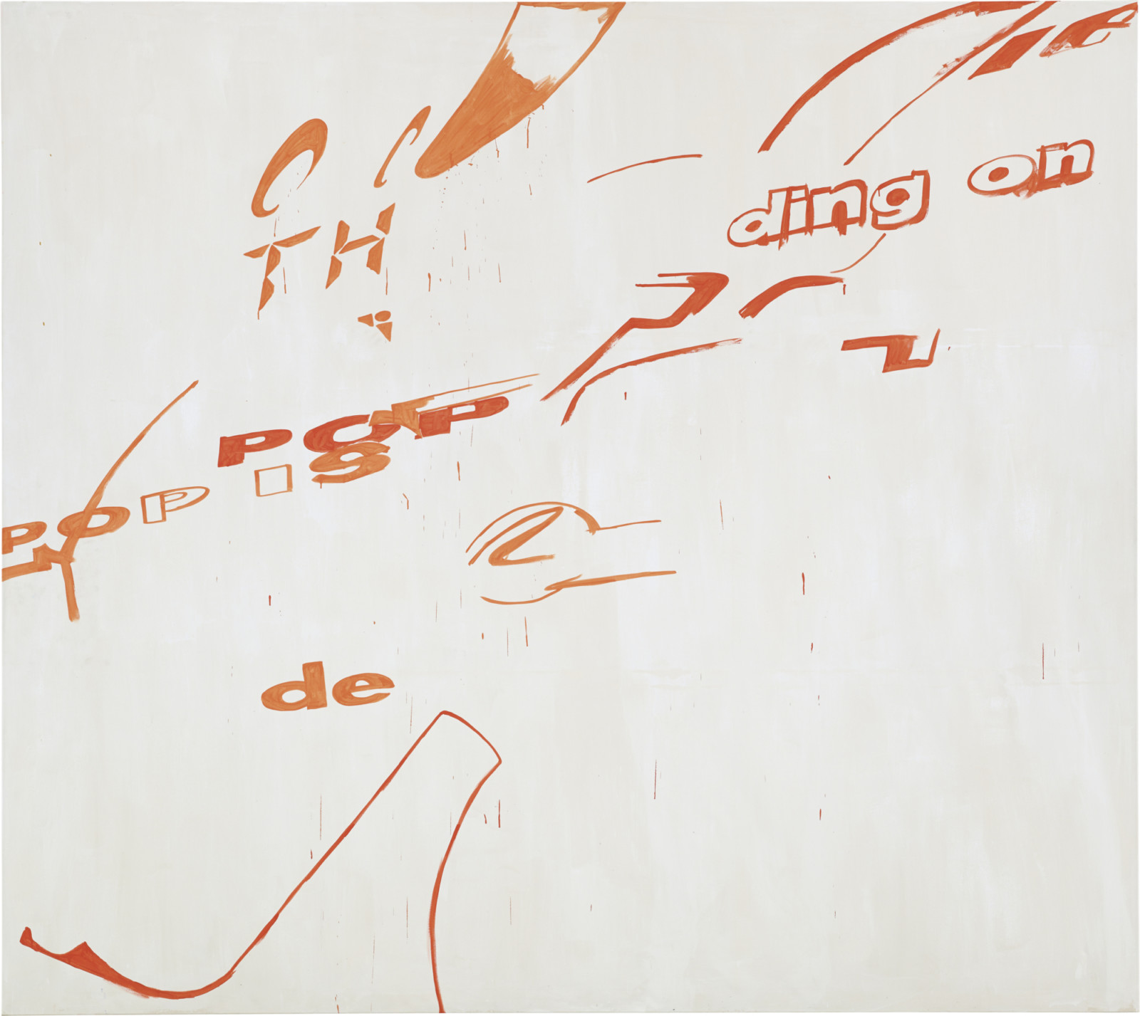 Painting by Michel Majerus, , dated 2000